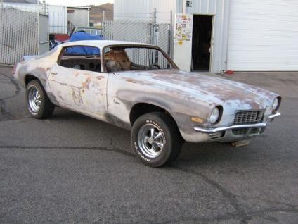 1970 Chevrolet Camaro Standard Coupe Body Project For Sale