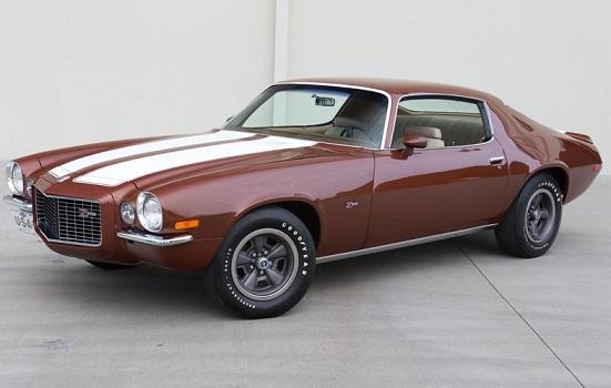 1970 Chevrolet Camaro Z28 RS - $22,900