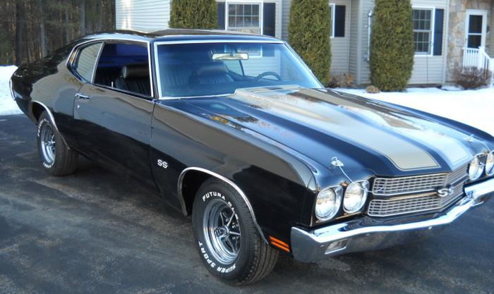 1970 Chevrolet Chevelle SS Black Beauty 2wd