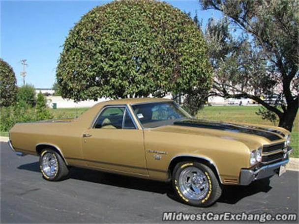 1970 chevrolet el camino ss for sale in alsip illinois classified. Black Bedroom Furniture Sets. Home Design Ideas