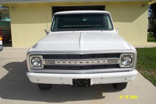 1970 Chevy C20 3 4 Ton Pick Up Truck For Sale In Sebastian Florida