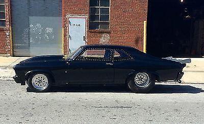 1970 chevy nova race car street car black for sale in astoria, new