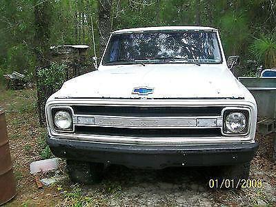 1970 Chevy Truck Body No Motor Or Transmission For Sale In