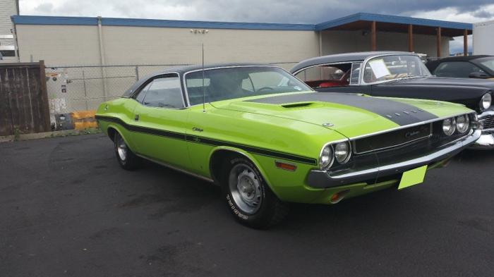 1970 Dodge Challenger Green RT/SE 440 Magnum