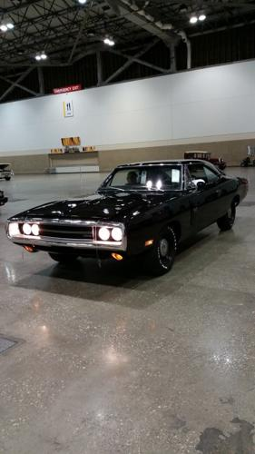 1970 DODGE CHARGER RT V-CODE 440 SIX PACK - BLACK (TX9)