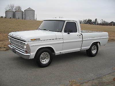 1970 Ford F 100 Ranger Xlt Short Wide Bed Great Driver