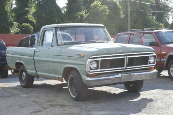 1970 ford f100 pickup truck one owner for sale in raleigh north carolina classified. Black Bedroom Furniture Sets. Home Design Ideas