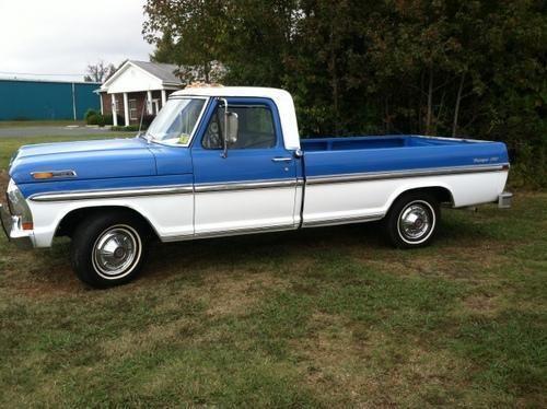 1970 ford f100 ranger xlt 302 v8 auto a c truck for sale. Black Bedroom Furniture Sets. Home Design Ideas