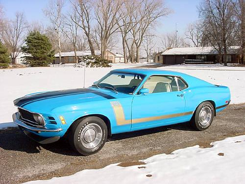 1970 Ford Mustang BOSS 302 - SUPERB !