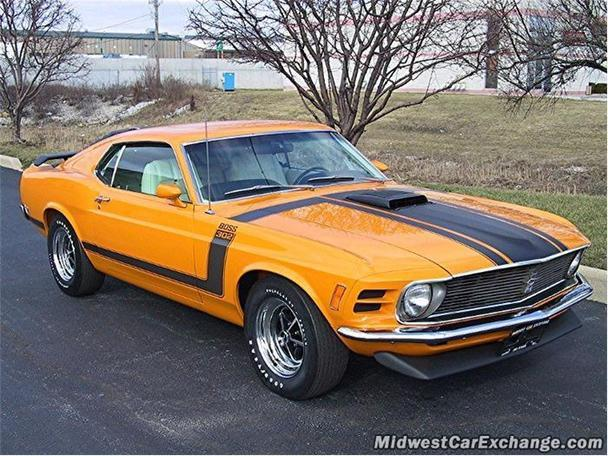 1970 ford mustang boss for sale in alsip illinois. Black Bedroom Furniture Sets. Home Design Ideas