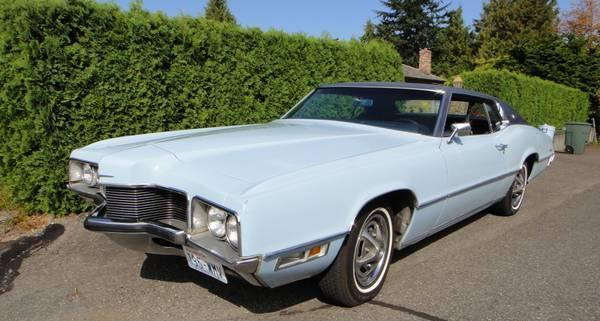 1970 Ford Thunderbird Landau Coupe For Sale For Sale In Edmonds