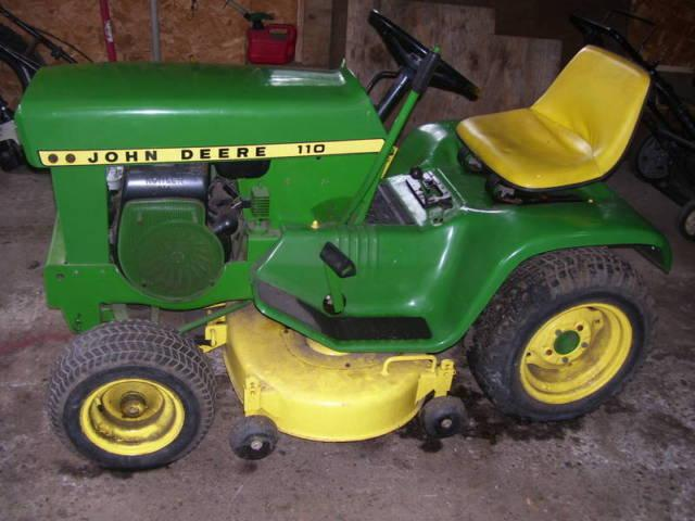 1970 john deere 110 mower for sale in bellingham massachusetts classified. Black Bedroom Furniture Sets. Home Design Ideas