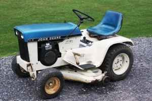 Up For Sale Is A 1970 John Deere 112 Patio Tractor With