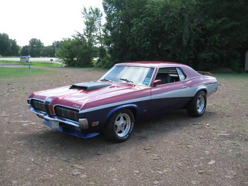 1970 MERCURY COUGAR - MODIFIED 428