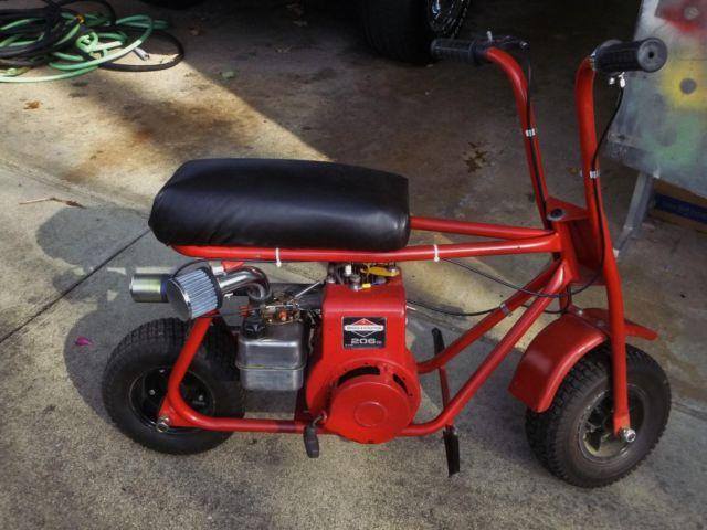 1970 old school mini bike/5hp-all parts new