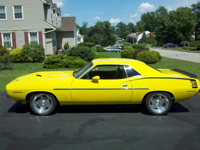 1970 Plymouth Barracuda 340 Yellow