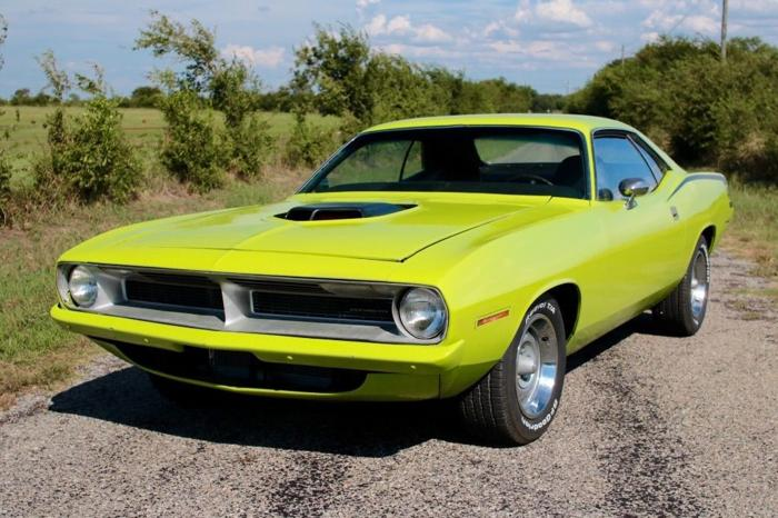 1970 Plymouth Barracuda Big Block 440 Shaker Hood