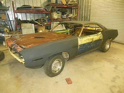 1970 RARE M46 option Plymouth Barracuda project