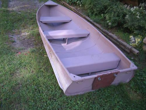 1970 Sears 12 Ft Aluminum Boat And Motor For Sale In