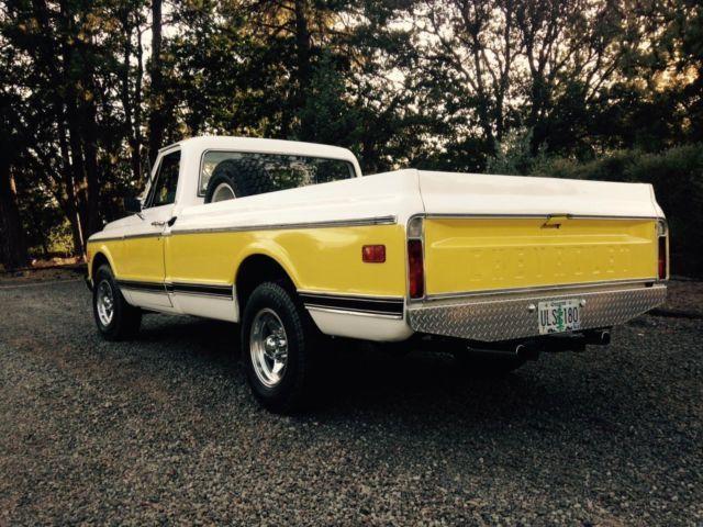 1971 c20 chevrolet pickup for sale in medford oregon. Black Bedroom Furniture Sets. Home Design Ideas