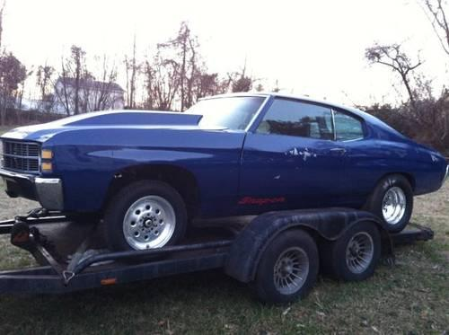 Buy Here Pay Here Md >> 1971 chevelle race car roller no motor w/16ft trailer 8000.00 obo for Sale in Mechanicsville ...