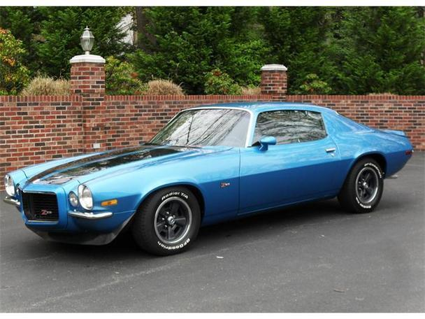 1971 chevrolet camaro rs z28 for sale in huntingtown. Black Bedroom Furniture Sets. Home Design Ideas