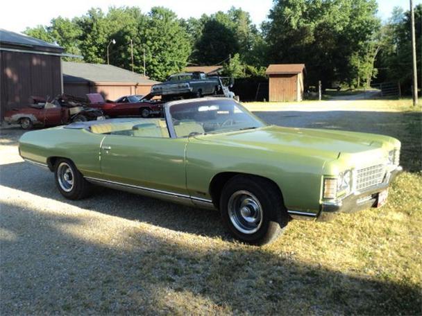 1971 chevrolet impala for sale in creston ohio classified. Black Bedroom Furniture Sets. Home Design Ideas