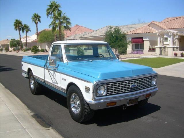 1971 chevy c20 pickup for sale az for sale in sun city arizona classified. Black Bedroom Furniture Sets. Home Design Ideas