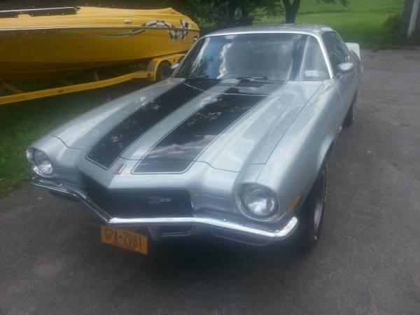 1971 Chevy Camaro Z 28 For Sale Ny For Sale In