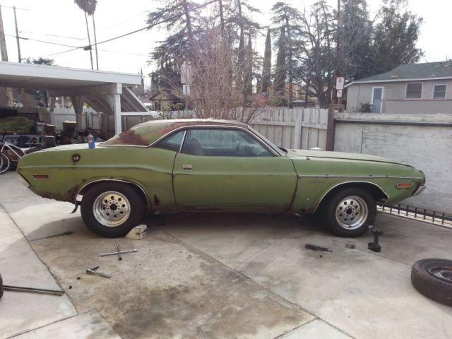San Fernando Dodge >> 1971 Dodge Challenger Survivor All Original For Sale In San