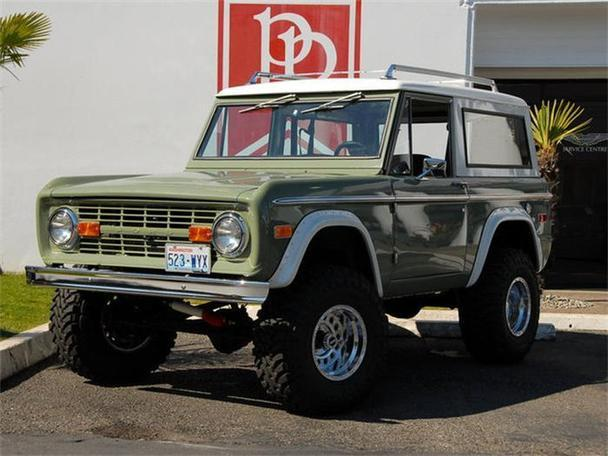 1971 Ford Bronco For Sale In Bellevue, Washington