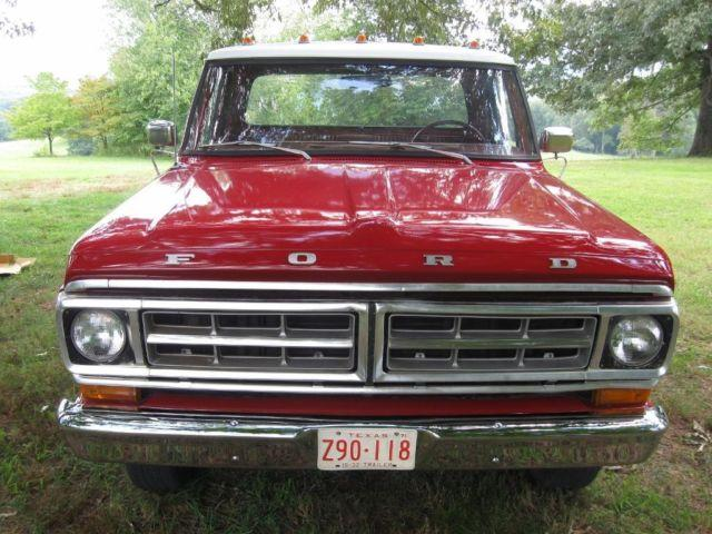 1971 Ford F C  U0026 Winch For Sale In