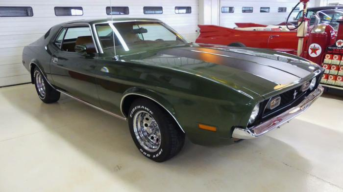 1971 Ford Mustang Green Automatic