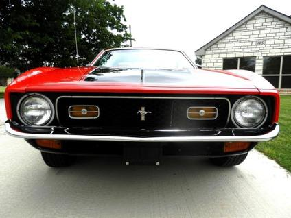 1971 ford mustang mach 1 for sale in lamb kentucky. Black Bedroom Furniture Sets. Home Design Ideas