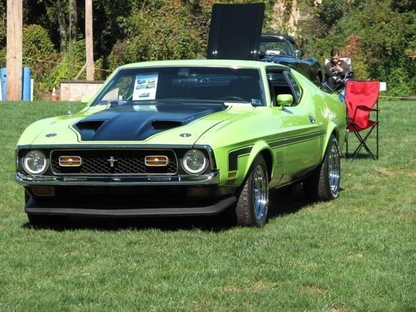 1971 Ford Mustang Mach 1 for sale (PA) - $21,500