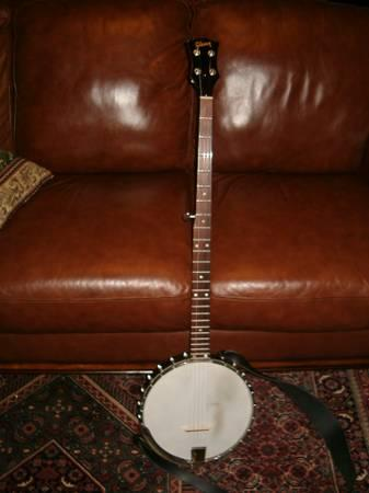 1971 Gibson RB-175 long neck banjo - $750