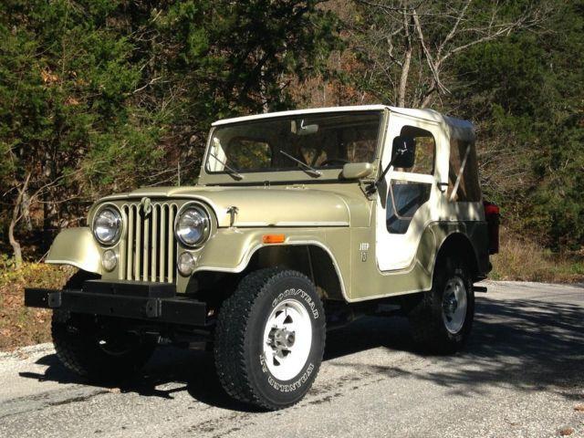 1971 jeep cj5 all original for sale in ashland missouri classified. Black Bedroom Furniture Sets. Home Design Ideas