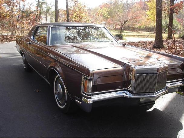 1971 lincoln continental mark iii for sale in gray court. Black Bedroom Furniture Sets. Home Design Ideas