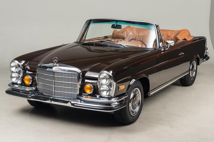 1971 mercedes benz 280 se 3 5 cabriolet p o r for sale in. Black Bedroom Furniture Sets. Home Design Ideas
