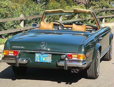 1971 mercedes benz 280 sl 190 bitcoin or best offer for Mercedes benz la jolla