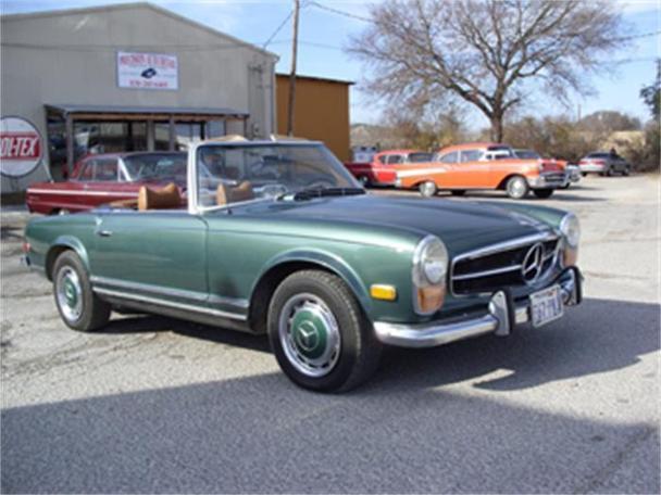 1971 mercedes benz 280sl for sale in kerrville texas for Mercedes benz for sale in texas