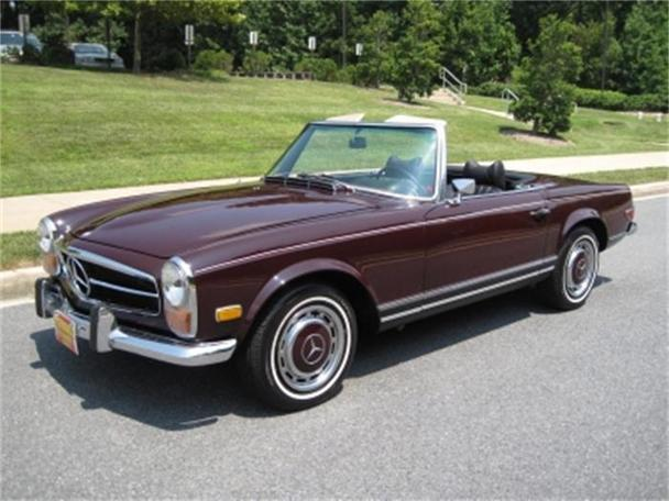 1971 mercedes benz 280sl roadster for sale in rockville for Mercedes benz for sale in md