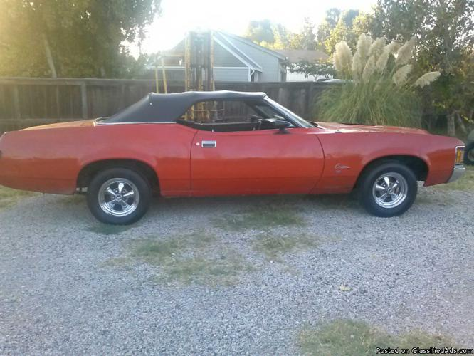 1971 Mercury Cougar Convertible For Sale In Bethel Island