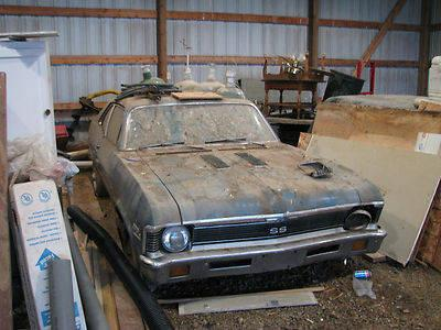 1971 Nova SS, 99.9% original, a TRUE barn find! for Sale ...