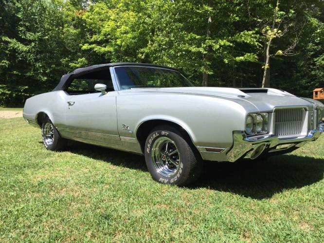 1971 OLDSMOBILE CUTLASS SUPREME SX CONVERTIBLE RARE