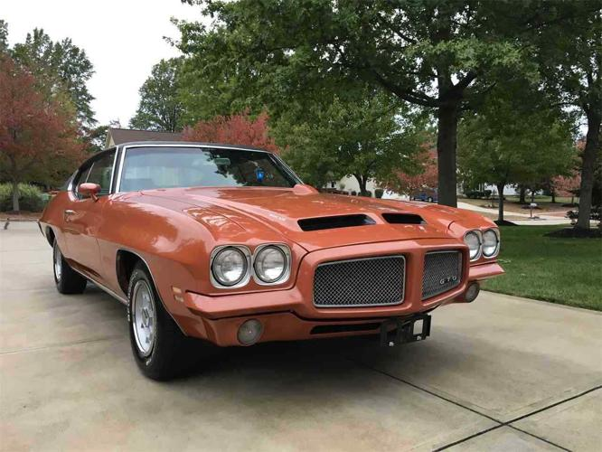 1971 Pontiac GTO Hardtop Canyon Copper