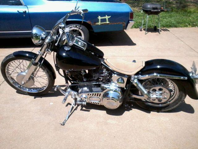 1971 shovel head Harley Davidson
