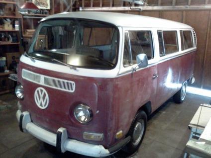 1971 volkswagen busvanagon passenger van for sale in greenville south carolina classified. Black Bedroom Furniture Sets. Home Design Ideas