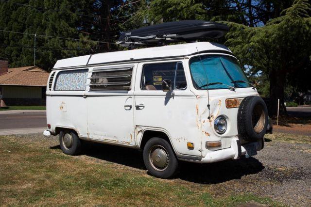 1971 vw westfalia camper van bus for sale in hillsboro oregon classified. Black Bedroom Furniture Sets. Home Design Ideas