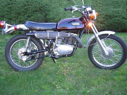 1971 Yamaha RT1-B 360  Enduro Vintage